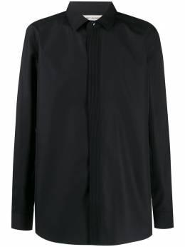 Saint Laurent рубашка с косым воротником 612547Y216W