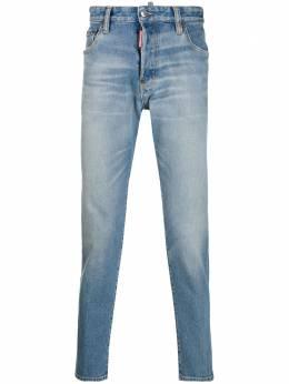 Dsquared2 джинсы прямого кроя с эффектом потертости S74LB0665S30662