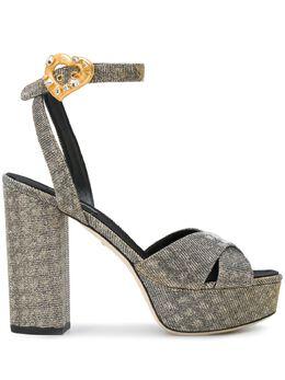 Dolce&Gabbana босоножки с ремешком на щиколотке CR0567AH930