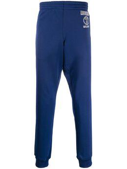 Moschino спортивные брюки с логотипом J03312029