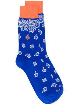 Etro носки с узором пейсли 1T8419311
