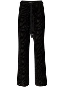 Nanushka брюки Giada Devore WPA00153
