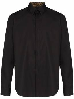 Fendi рубашка с монограммой FF FS0703AAPD