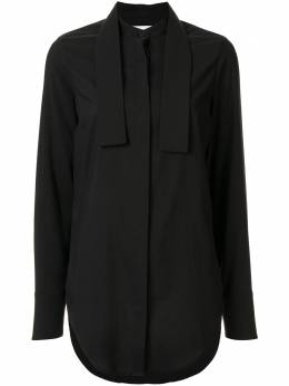 Strateas Carlucci рубашка с воротником-стойкой SCSS20D1WTOP008BLK