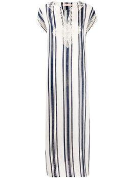 Tory Burch платье в полоску 57114