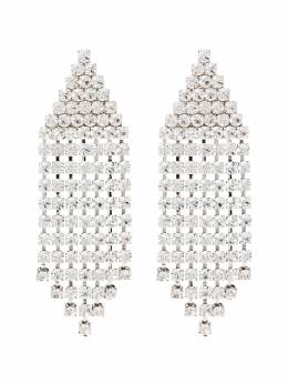 Alessandra Rich серьги с кристаллами FABA2039