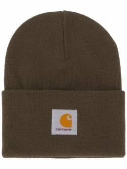 Carhartt Wip шапка бини с нашивкой-логотипом I020222