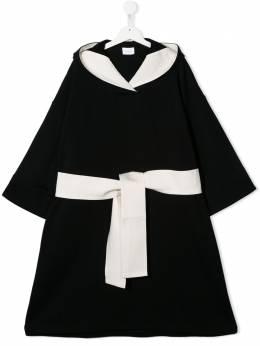 Unlabel платье-кимоно с капюшоном 105103