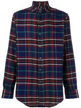 Polo Ralph Lauren фланелевая рубашка в клетку 710769720001