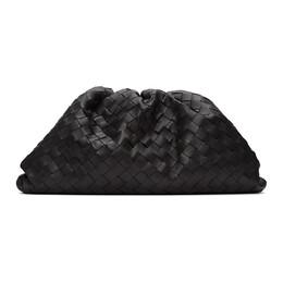 Bottega Veneta Black Intrecciato The Pouch Clutch 576175 VCPP0