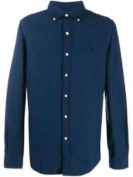 Polo Ralph Lauren однотонная рубашка классического кроя 710767447