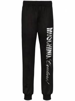 Moschino спортивные брюки с логотипом A03112029