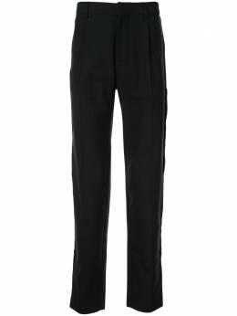 Cerruti 1881 брюки с узором в елочку и завышенной талией C3661EI62038