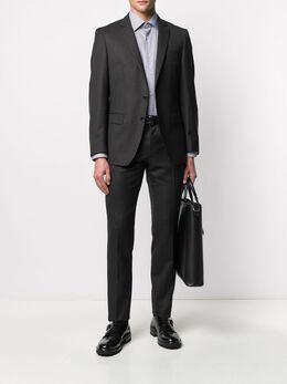 Boss by Hugo Boss рубашка с геометричным принтом 50421998