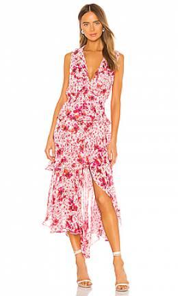 Макси платье ilona - Misa Los Angeles ISDL6765