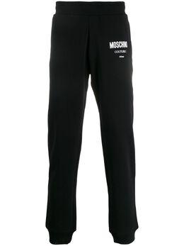 Moschino спортивные брюки с логотипом A03462027