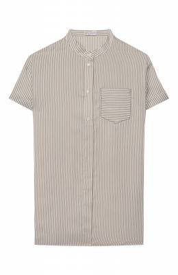 Шелковая блузка Brunello Cucinelli BF771C200C