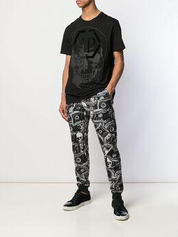 Philipp Plein спортивные брюки Dollar P19CMJT0981PJO002N