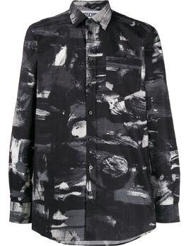 Moschino рубашка с принтом A02112057