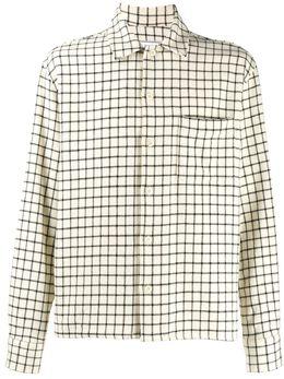 Ami Paris рубашка с воротником камп P20HC305405