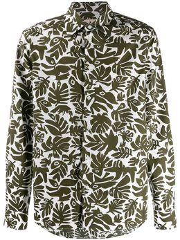 Marni рубашка с принтом CUMU0024A0S52608