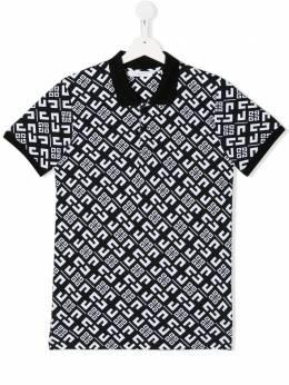 Givenchy Kids футболка с монограммой H25165M41