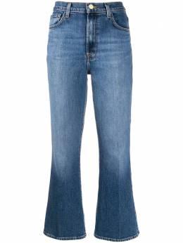 J Brand расклешенные джинсы Julia с завышенной талией JB002679