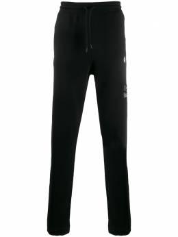 Marcelo Burlon County Of Milan спортивные брюки свободного кроя с логотипом CMCH010R20FLE0011001
