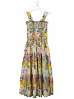 Stella McCartney Kids платье с абстрактным принтом 588690SOK88