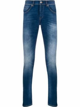 Dondup джинсы кроя слим с эффектом потертости UP232DS0145AB4