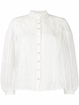 Loveshackfancy рубашка Ronda с вышивкой LT576493RONDATOP