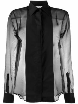 Helmut Lang полупрозрачная рубашка J09HW504