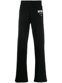 Moschino спортивные брюки с логотипом A03402027