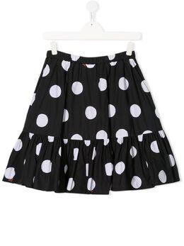 MSGM Kids юбка в горох 022131