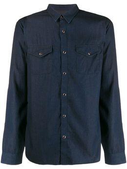John Varvatos однотонная рубашка на пуговицах W544V4B72UJ