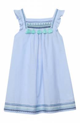 Хлопковое платье Sunuva S2372/1-6