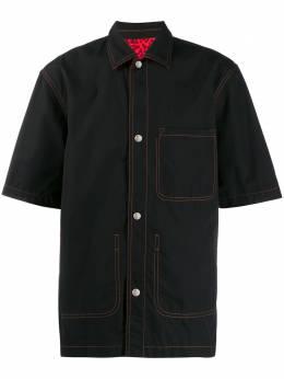 Marni рубашка с накладными карманами CUMU0122BQSTN934