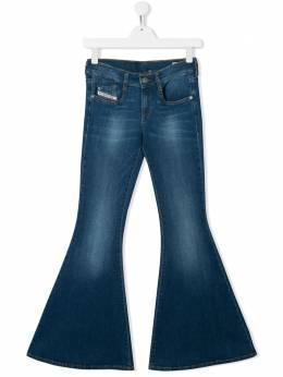 Diesel Kids расклешенные джинсы 00J4S2KXB3X