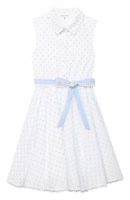 Хлопковое платье Alexander Terekhov KIDSD147/0300.P140/S20