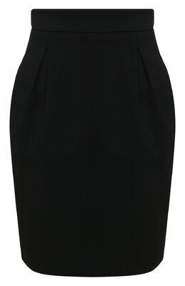 Юбка из смеси вискозы и шелка Versace A86563/A222813