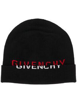 Givenchy шапка бини с логотипом BPZ005P06H
