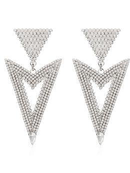 Alessandra Rich серьги с кристаллами FABA2038