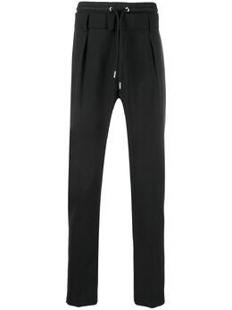 Les Hommes зауженные брюки с завышенной талией LIP302307N9000