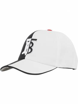 Burberry бейсбольная кепка с монограммой 8023974