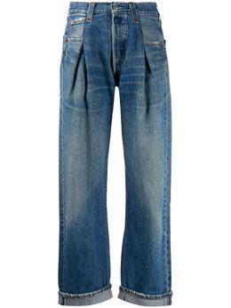 Re/Done джинсы со складками 1170ZT
