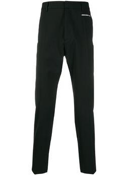 Dsquared2 брюки строгого кроя с молниями S74KB0392S40320