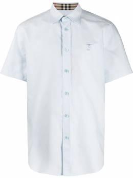 Burberry рубашка с короткими рукавами 8025611CELESTESS112047