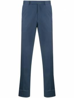 Ermenegildo Zegna строгие брюки прямого кроя 714F0477TB12