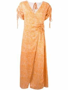 Suboo платье Sienna с запахом и принтом SB1601R19