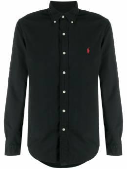 Polo Ralph Lauren рубашка кроя слим с вышитым логотипом 710755877006
